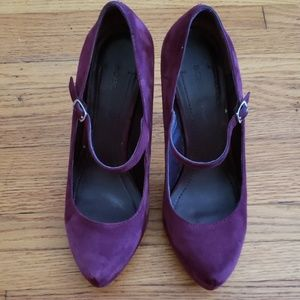 BCBGeneration suede Mary Jane Pumps  (used)